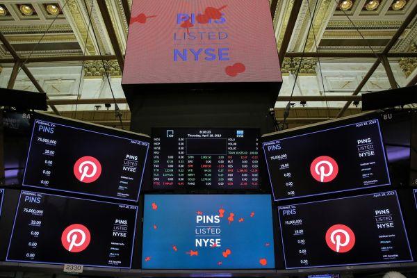 Pinterest вышел на IPO