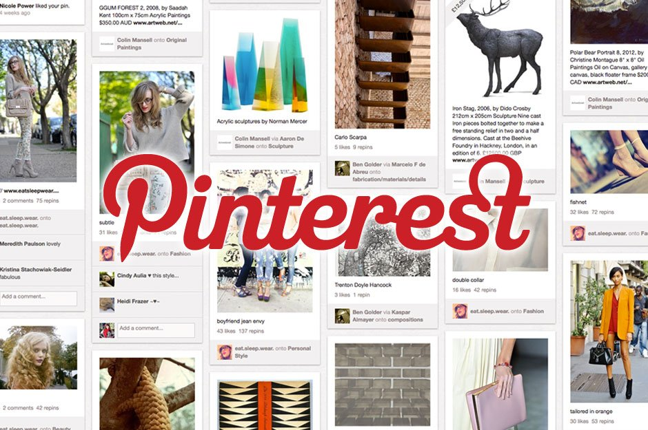 Сервис Pinterest