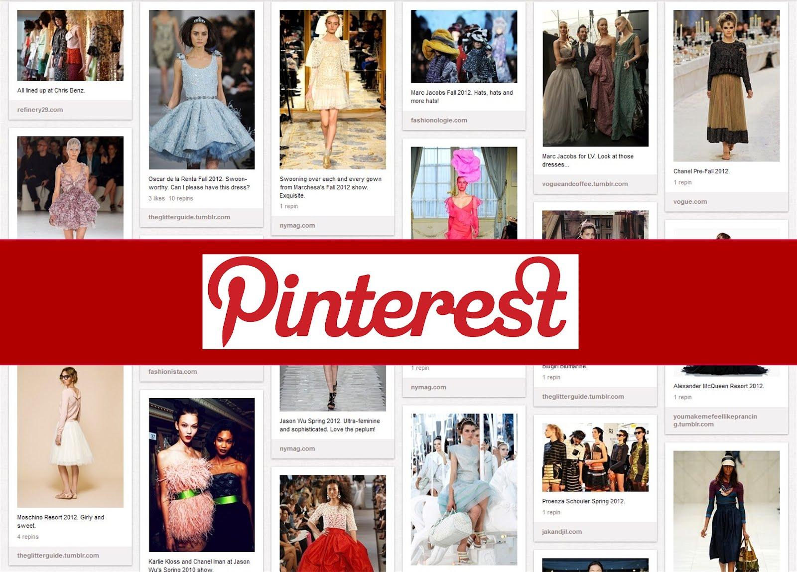 Изменение имени в Pinterest
