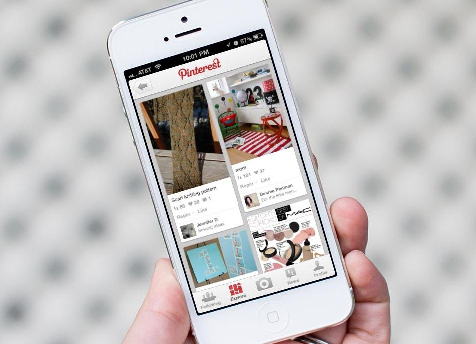 Приложение Pinterest